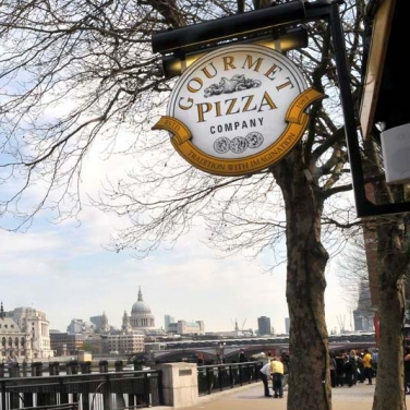 Restaurant South Bank London Gourmet Pizza Company